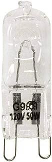 VSTAR G9 50W Halogen Bulb 120-Volt Base G9 Halogen Bulb,10 Pack