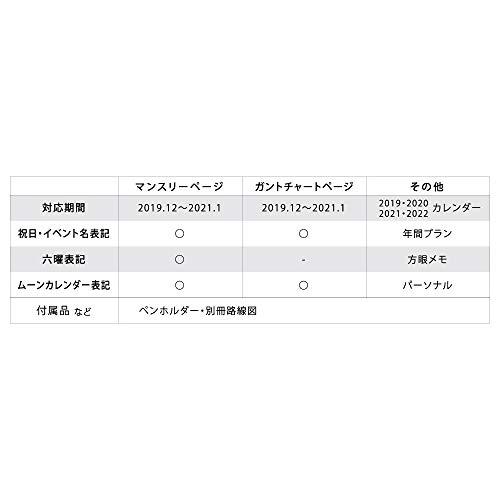 アートプリントジャパン『2020年手帳G.B.Plannerダイアリー』