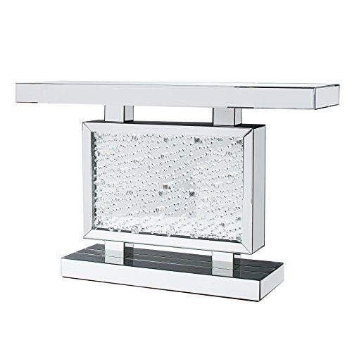 Invicta Interior Verspiegelte Konsole Brilliant 120 cm Spiegelkonsole Konsolentisch Spiegel Spiegelglas Kristall
