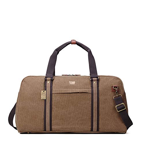TRP0389 Troop London Classic Canvas Travel Duffel Bag, Holdall