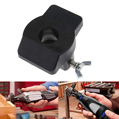 Micro Traders Rotary Sanding Grinding Guide Tool for Dremel 576 Shaping Platform Attachment