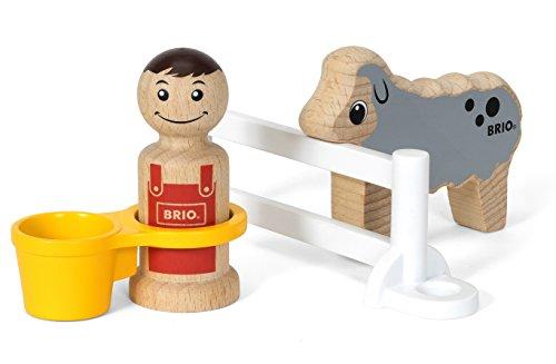 BRIO BRIO My Home Town 30399 - Erweiterungsset Bauer und Schaf, bunt