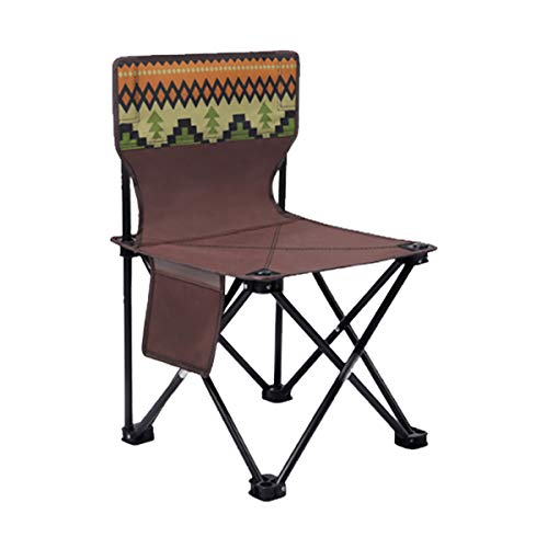 no-branded Outdoor Freestyle Portable Folding Rockin Camping and Sports Chair (Black)