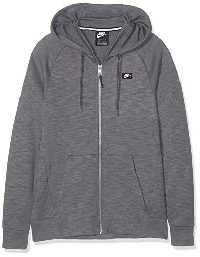 Nike Herren M NSW Optic FZ Sweatshirt Kapuzenjacke, Schwarz (Black), XL