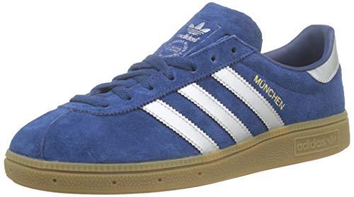 adidas Herren München Schuhe, Blau (mystery blue-matte silver-footwear white), 47 1/3 EU