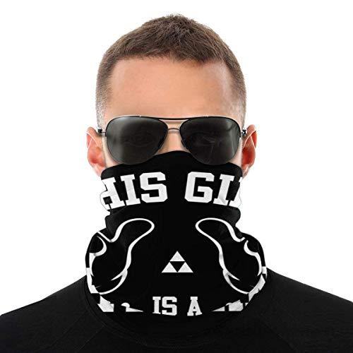 Dieses M?dchen ist eine Hylian Variety Kopftuch Gesichtsschutz Magic Headwear Neck Gaiter Face Bandana Schal