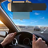 FILBA Car Visor Sunshade Extender, Anti-Glare Car Sun Visor Protects from Sun Glare, Snow Blindness, UV Rays, Universal for Cars, SUV, Universal for Driver and Passenger Side