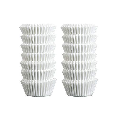 Zenker Mini-Muffinförmchen, Papier, weiß, 3 x 3 x 2.5 cm, 240-Einheiten