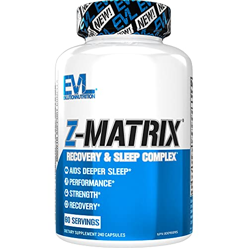 Evlution Nutrition Z Matrix Nighttime Recovery and...