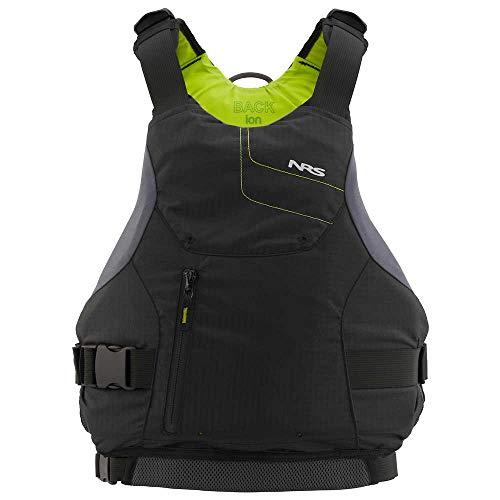 NRS Ion Kayak Lifejacket (PFD)-Black-XL/XXL