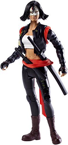 Mattel DNV46 Suicide Squad Movie Collector Katana Figur, 15 cm