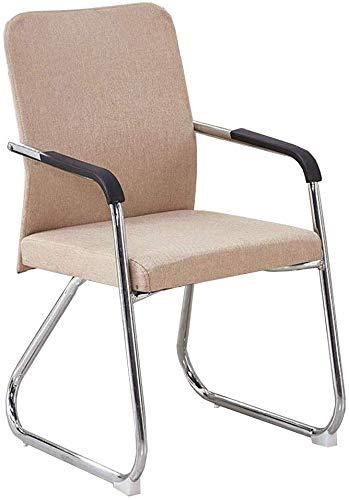 GSN High Density Thick-Schaum-Bequeme Erfahrung Qualität Tuch Gewebe Bracket Struktur leichte Verformung Sessel (Color : Brown1)