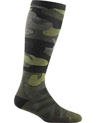 Darn Tough Camo OTC Midweight Sock with Cushion w/ Graduated Light Compression - Women's Forest Medium