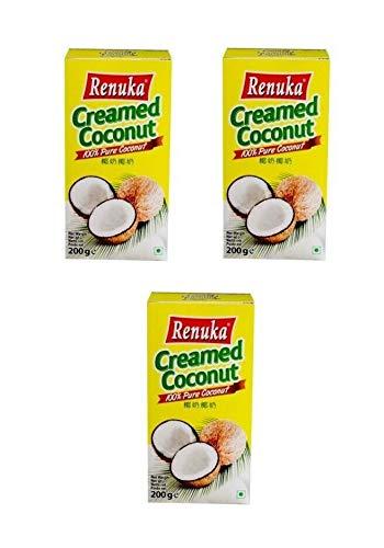 Pamai Pai® Dreierpack: 3 x 200g Kokosnuss Creme Kokoscreme für Cocktails