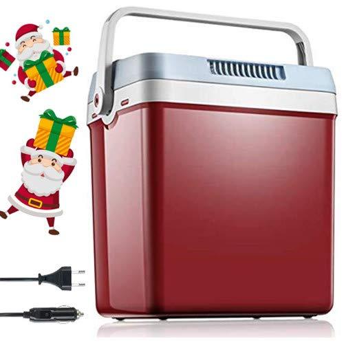 Frigo Portatile Termoelettrico AC/DC, 12/220v, 26 L Casa Auto Camper Frigo Portatile Funzione MAX/ECO