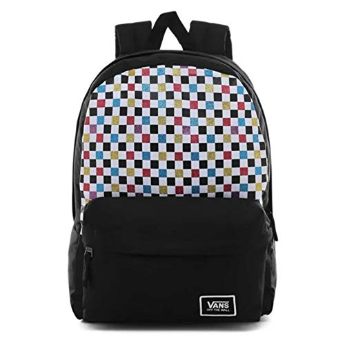 VANS Glitter Check Realm Backpack VN0A48HGUX91
