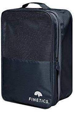 Schuhtasche Reise Schuhbeutel mit 3 Fächern und Trennwand für Koffer, Rucksack, Sporttasche und Strand