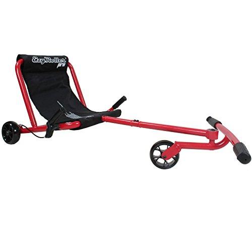 EzyRoller Pro Fun Fahrzeug Dreirad für Jugendliche und Erwachsene Farbe: rot