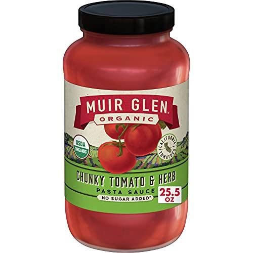 Muir Glen Organic, Pasta Sauce, Chunky Tomato & Herb, 25.5 oz