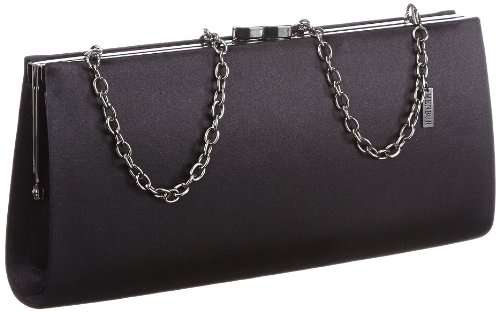 MENBUR Paxton - Bolso de mano mujer, color negro, talla 25 x 12 x 4,5 cm (B...