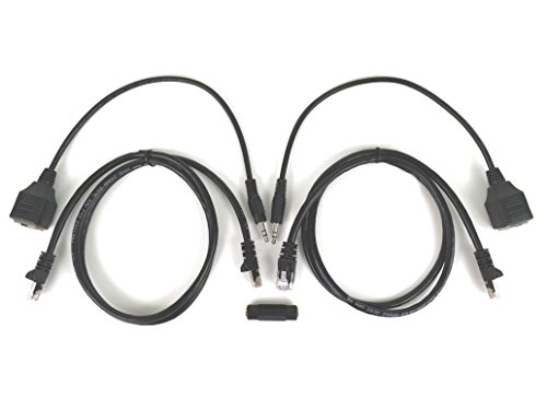 Inteset Infrared (IR) Cat 5 Adapter Kit for Cable Box and STB IR Extenders and IR Repeater Kits