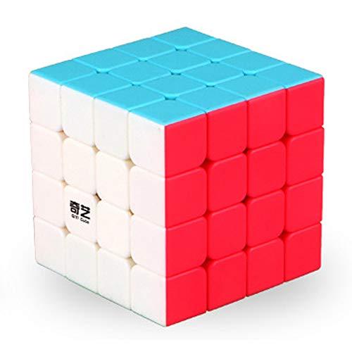 MINGZE Speed Cube, 2x2 3x3 4x4 5x5 6x6 7x7 Stickerless Smooth Cubo di velocità Magico Professionale, Puzzle Rompicapo Giocattolo Regalo per Adulti e Bambini (4x4x4)