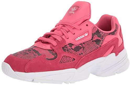 adidas Originals Women's Falcon Sneaker, Craft Pink/Craft Pink/FTWR White, 10 M US
