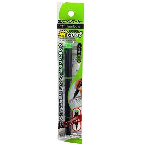 トンボ鉛筆 蛍光ペン 蛍コート GCA-115 黄緑パック