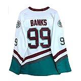 WANGT # 96# 99 Jersey De Hockey sobre Hielo, Sudaderas para Hombre Camiseta De Manga Larga Transpirable Ropa De Hip Hop para Fiestas, Letras Y Números, Sudadera, Camisetas De Hockey,99,XXL