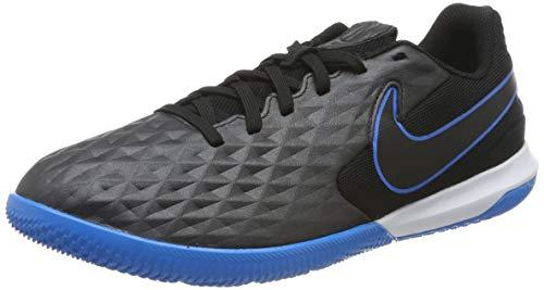 Nike Legend 8 Academy IC, Zapatillas de Fútbol Hombre, Negro (Black/Black/Blue Hero 004), 38 EU
