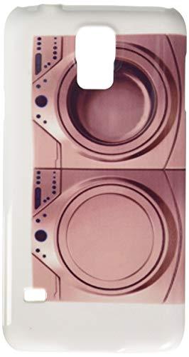 my-handy-design Funda para teléfono Celular Samsung S5 con diseño de Secadora y Lavadora, Color Blanco