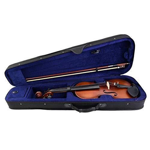 Anfänger Geige Praktisch für Geigenliebhaber für Amateure Liebhaber(AV506 retro solid wood violin)