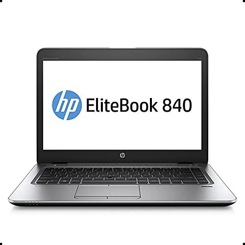 HP Elitebook 840 G3 Business Laptop Computer: 14' FHD/ Intel Core i7-6600U up to 3.4GHz/ 16GB DDR4 RAM/ 256GB SSD/ 802.11ac WiFi/ Bluetooth 4.2/ USB Type-C/ Windows 10 Professional (Renewed)