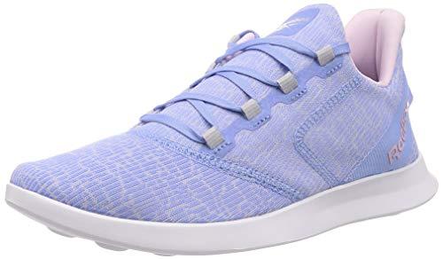 Reebok Damen Evazure DMX Lite 2.0 Sneaker, Mehrfarbig (Conblu/ Cdgry2/ Pixpnk), 42 EU