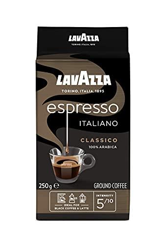 Lavazza Gemahlener Kaffee - Espresso Italiano - 100 % Arabica - 250 g