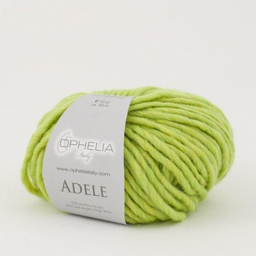 Ophelia Italy Adele - Gomitoli Lana 50g Filato stoppino 70% Acrilico 30% Lana Vergine (014...