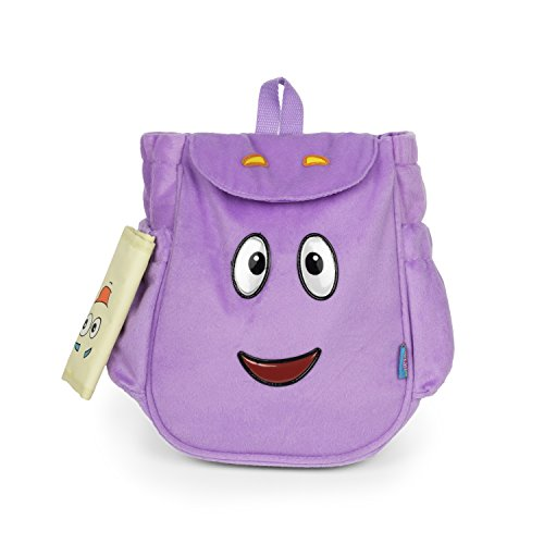 Dora the Explorer Dora Mr.Backpack Purple Plush Backpack, Purple, Size Small