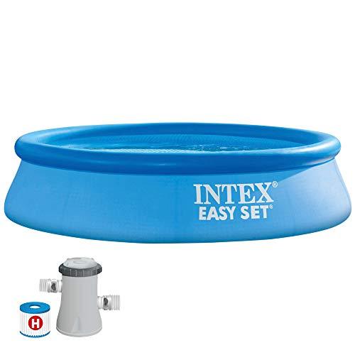 INTEX 55237 - Piscina hinchable Easy Set con depuradora