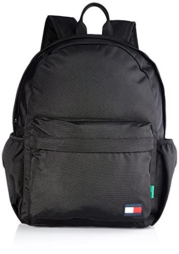 Tommy Hilfiger BTS Core Backpack, Mochila Unisex niños, Negro, Talla única