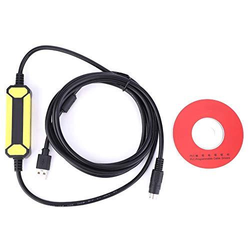 Fafeicy Cable de programación, para Mitsubishi FX1S/1N/2N/3U FX...