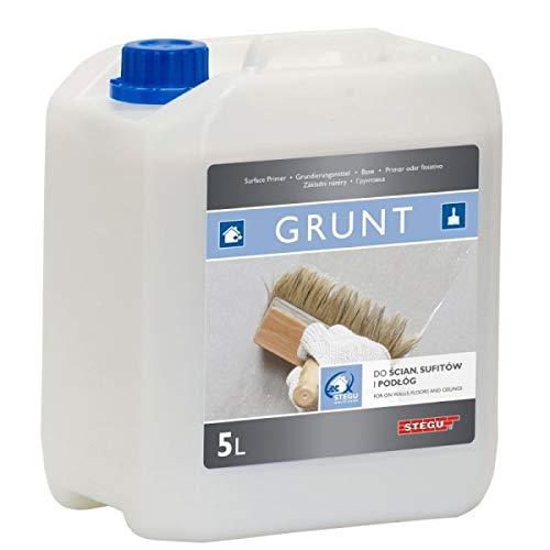 Stegu® GRUNT Grundierung 5 l - zum Grundieren von Oberflächen