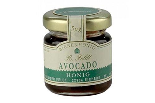 Avocado-Honig, Mexiko, dunkel, flüssig, leichtes Pflaumenaroma, Portionsglas, 50g