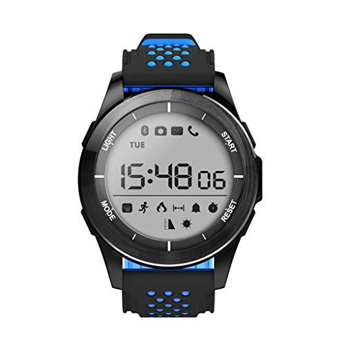GXSLKWL IP68 Waterproof Smart Watch Camera GPS 3G WiFi Bluetooth 4.0 Pedometer, Calorie Counter, Wrist Heart Rate Monitor, Digital Watch, Best Heart Rate Monitor, SMS and Call Reminder