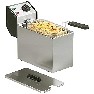 Roller Grill Friteuse 5 litres INOX avec minuterie
