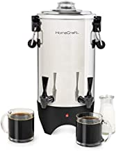 HomeCraft CUDS45SS Quick-Brewing Stainless Steel 1000-Watt Automatic 45-Cup Double-Faucet Urn, Coffee, Espresso, Water, Tea, Hot Chocolate