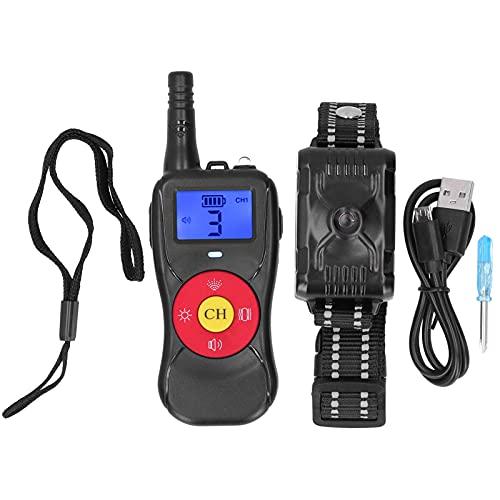 EVTSCAN Hundetrainingshalsband mit Fernbedienung - Spray Dog Shock Collar Range 800M/2624ft, Vibrationskontrolle, wiederaufladbares Rinden-E-Halsband