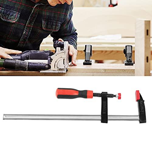 Abrazadera F para carpintería, 2 uds, Abrazaderas F resistentes a la oxidación, duraderas, resistentes, clips de barra para carpintería de deslizamiento rápido, kit de herramientas de mano DIY 50 * 3