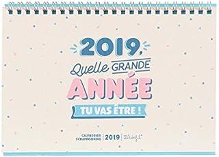 Calendario Mensual Mr Wonderful.Amazon Es Calendario Mr Wonderful 2019