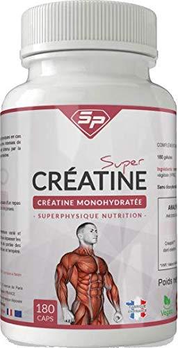 Súper creatina: monohidrato de creatina en cápsulas (1 mes