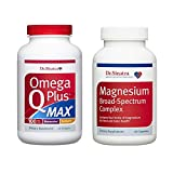 Dr. Sinatra's Omega Q Plus MAX with 100 mg of CoQ10 and Magnesium Broad-Spectrum Complex Ultimate Heart Health Bundle | Advanced Cardiovascular Support for Healthy Cholesterol and Blood Pressure